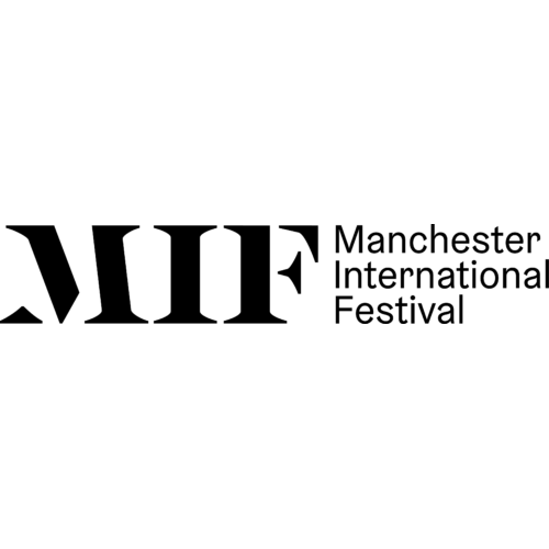 MIF next to Manchester International Festival. All in black text on a white background.