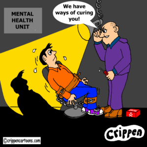 cartoon about treatment of autism