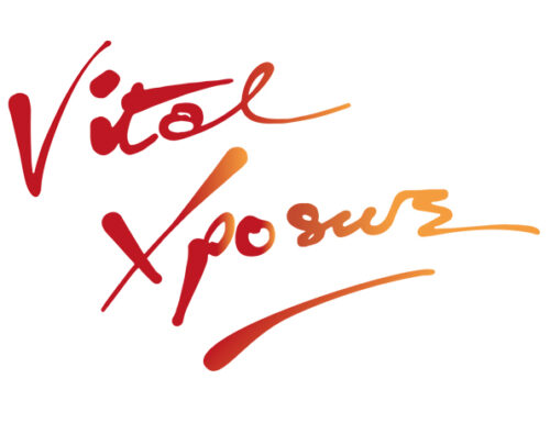 Vital Xposure logo. It contains the company's name in red letters against white background.