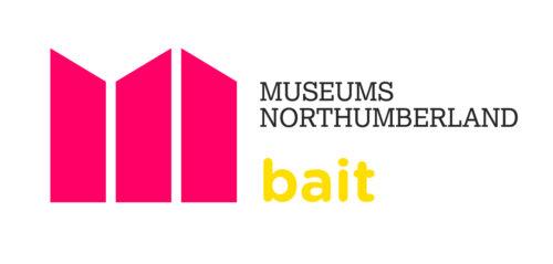 Museums Northumberland bait logo