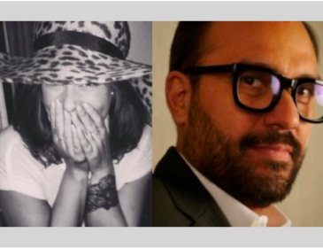 Photo of Shadeh Smith music video commissioner and Sergio Leone, branded content commissioner - judges for the awards