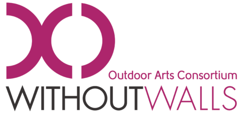 Logo containing text 'Outdoor Arts Consortium Without Walls'
