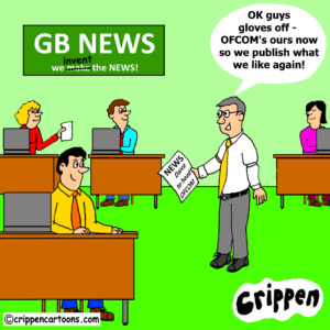cartoon about news bias