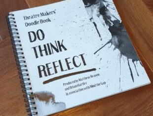 Cover of the front page of a resource book called 'do thnk reflect'