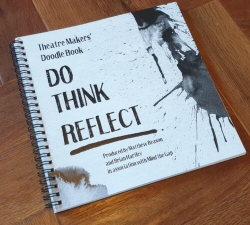 Cover of the front page of a resource book called 'do think reflect'