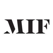 Black MIF on white background