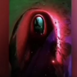 Screenshot of an abstract still from film Define Your Journey