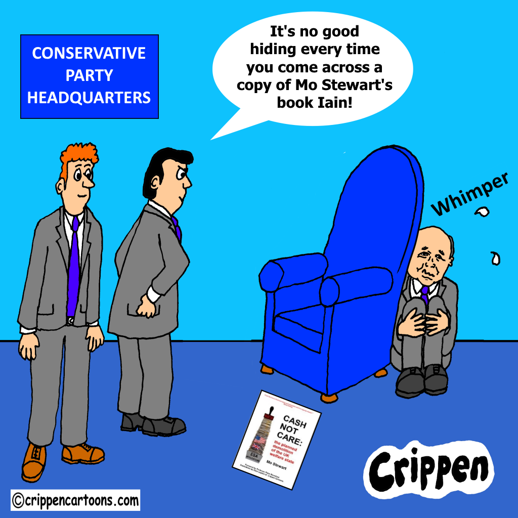 cartoon about IDS