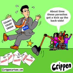Cartoon about ATOS
