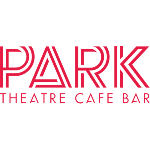 Park in large red double lined capital letters. Below in smaller red capitals is the text: Theatre Cafe Bar