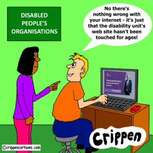 cartoon about disability unit