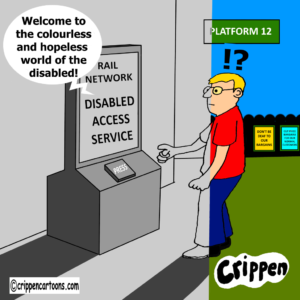 cartoon about inaccessible web site