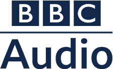 BBC Audio in blue on a white background.