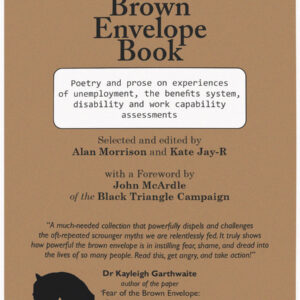 poety book cover with titles on a brown background