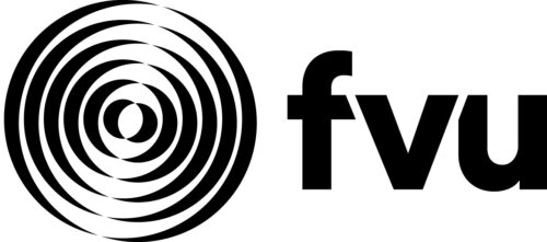 fvu logo. 6 Black circles drawn within each other getting smaller and smaller.