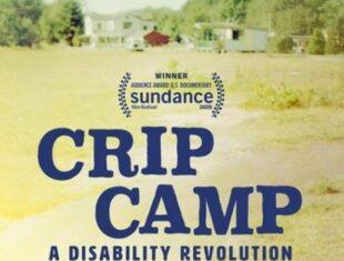 flyer for documentary film Crip Camp