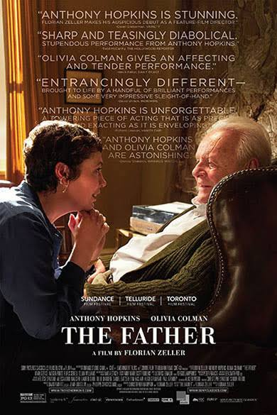 a poster for the film The Father