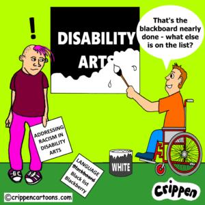 cartoon about racial discrimination