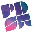 PDSW in Purple/Pink lettering.