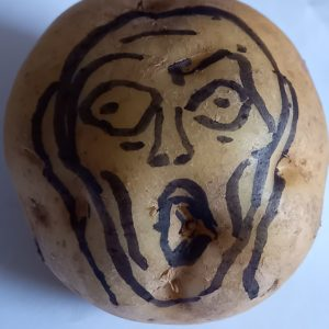 The Scream as Potato