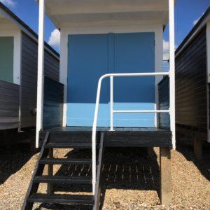 Baby Blue beach hut