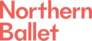 Northern Ballet in red text on a white background.