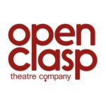 Open Clasp Theatre Company in red on a white background.